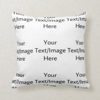 Customizable products throw pillow