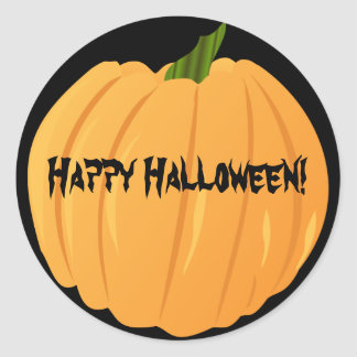 Customizable Pumpkin Stickers