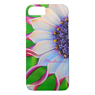 Customizable Purple African Daisy iPhone 7 Case