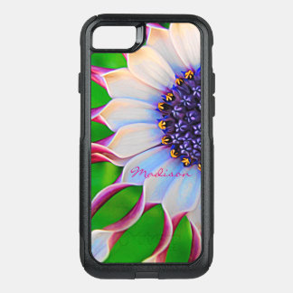 Customizable Purple African Daisy OtterBox Commuter iPhone 8/7 Case