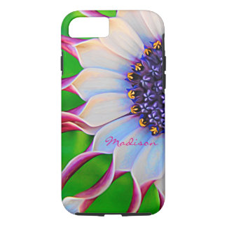 Customizable Purple African Daisy Tough iPhone 7 Case