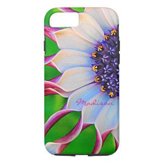 Customizable Purple African Daisy Tough iPhone 8/7 Case