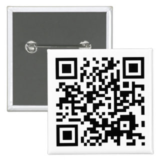 customizable QR code 2 Inch Square Button