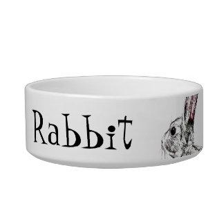 customizable rabbit bowl cat water bowls