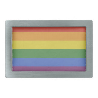 Customizable Rainbow Buckle Rectangular Belt Buckles