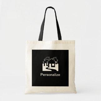 Customizable real estate agent reusable bag