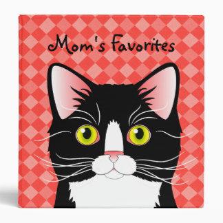 Customizable Recipe Binder Mom's Cats