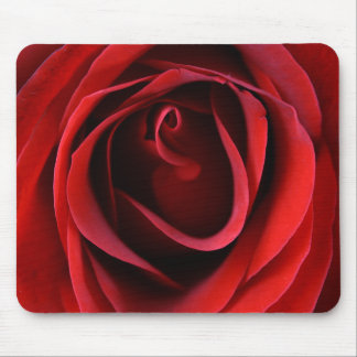 Customizable Red Rose Up Close Mousepad