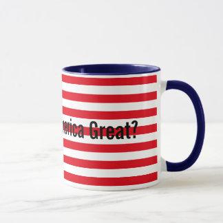 Customizable Red White Blue Makes America Great Mug