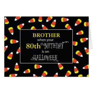 Customizable Relationship/Age Birthday Halloween Card