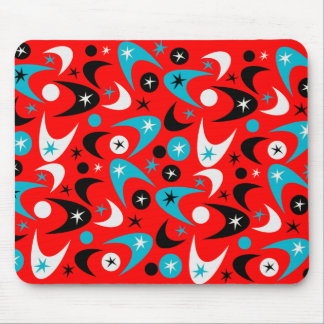Customizable Retro Boomerang Mouse Pad