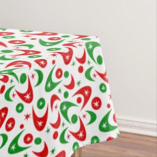Customizable Retro Boomerangs Tablecloth