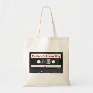 Customizable Retro Cassette Tape Tote