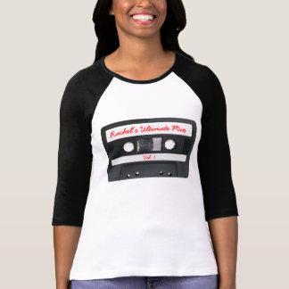 Customizable Retro Cassette Tape Tshirt
