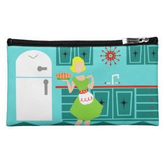 Customizable Retro Kitchen Cosmetic Bag
