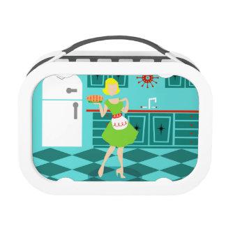 Customizable Retro Kitchen Lunch Box