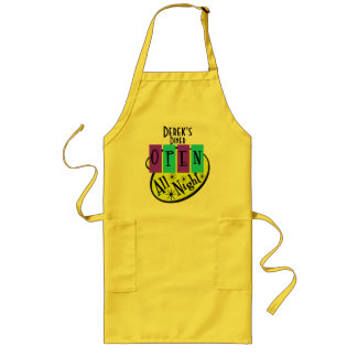 Customizable Retro Open All Night Diner Apron
