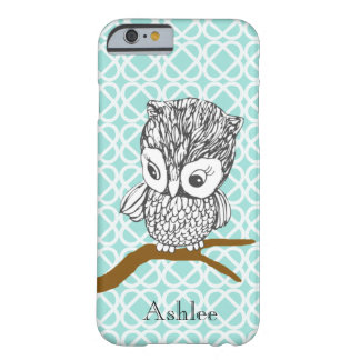 Customizable Retro Owl iPhone 6 case