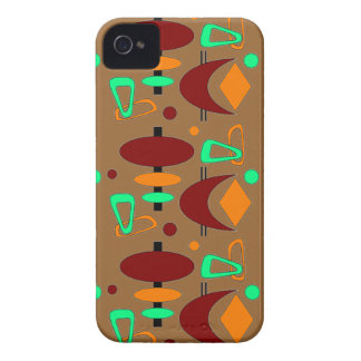 Customizable Retro Shapes iPhone 4 Covers