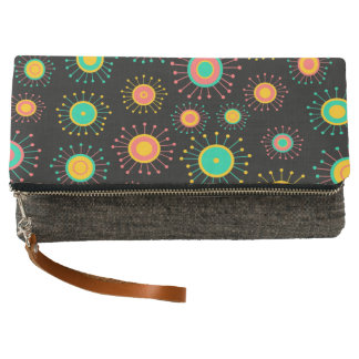 Customizable Retro Starbursts Clutch
