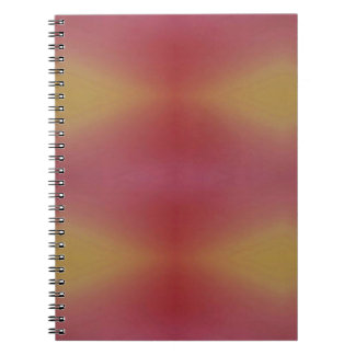 Customizable Rose Yellow Soft Subtle Background Notebook