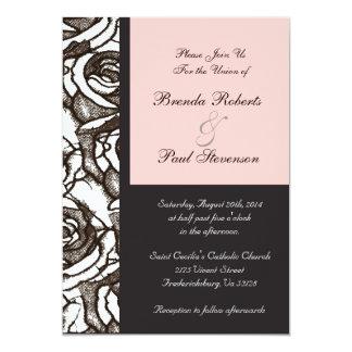 Customizable Roses Wedding Invitation