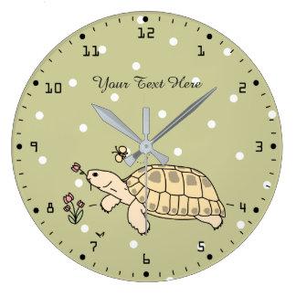 Customizable Russian Tortoise Clock