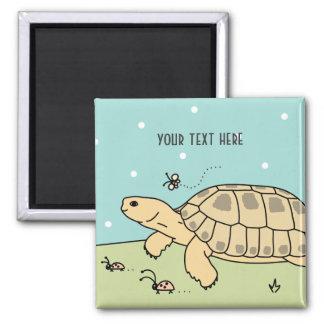 Customizable Russian Tortoise Magnet