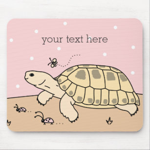Customizable Russian Tortoise Mousepad