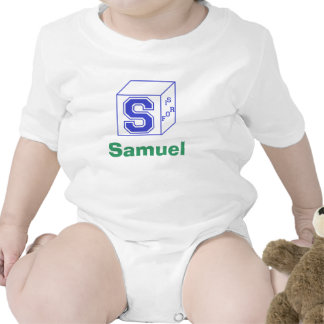 """Customizable """"S Is For..."""" Baby Outfit Creeper"""