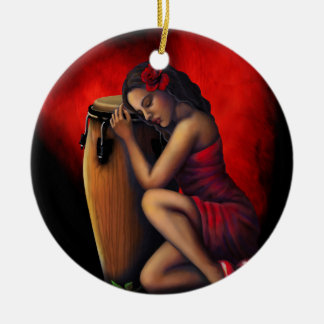 Customizable Salsa Ornament