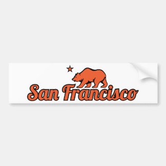 Customizable San Francisco Bumper Sticker