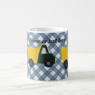 Customizable sand truck coffee mug