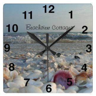 Customizable Sanibel Island Beach Clock
