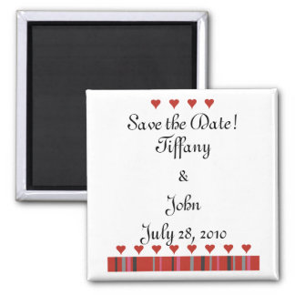 Customizable Save the Date! Magnet