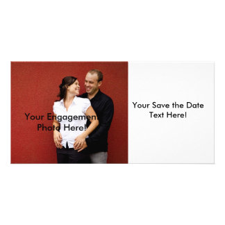 Customizable Save the Date Photo Cards