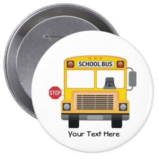 Customizable School Bus Pin