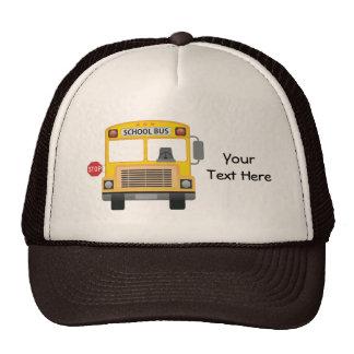Customizable School Bus Trucker Hats