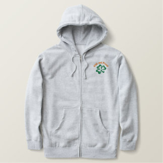 Customizable Shamrock Hoodie or Tshirt