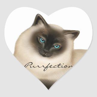 Customizable Siamese Cat Sticker