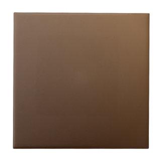 Customizable Simple Light Brown Gradient Tile