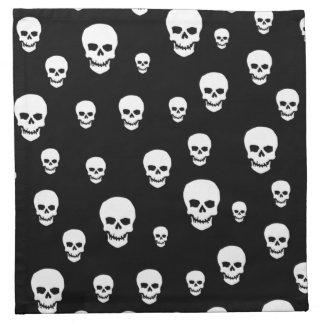Customizable Skulls Napkin
