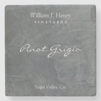 Customizable Slate Stone Wine Coasters Stone Beverage Coaster