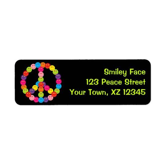 Customizable Smiley Peace