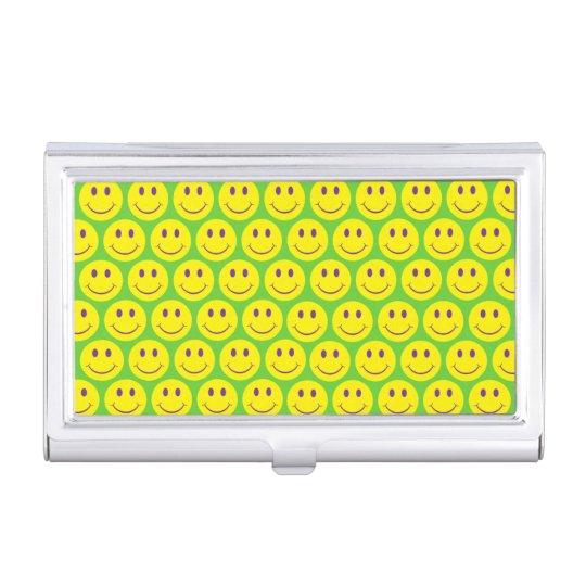 Customizable Smileys Business Card Holder