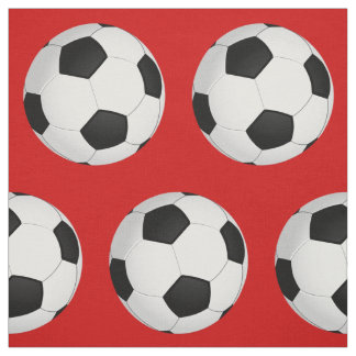 Customizable Soccer Fabric in YOUR COLOR Fabric