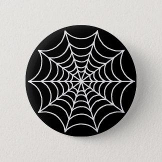 Customizable Spider Web 2 Inch Round Button