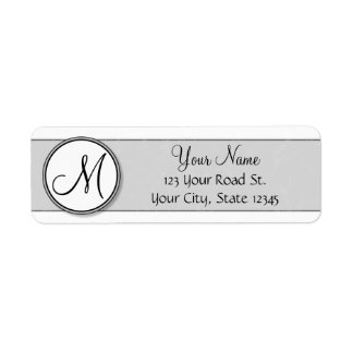 Customizable Split Monogram Seal Template