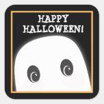 Customizable Spooky Ghost Halloween Sticker