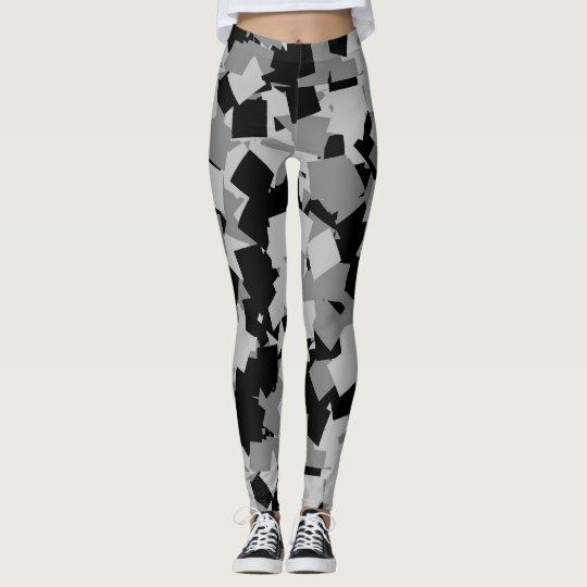 customizable square camo womens leggings